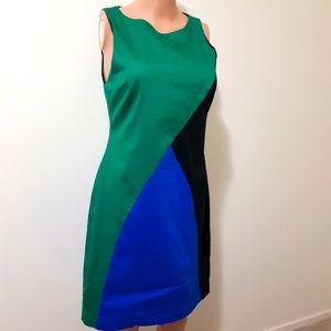 VERY VERY Australian made Colour Block Dress AU 14